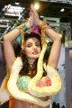 Shoana als Bauchtänzerin BeautyMesse